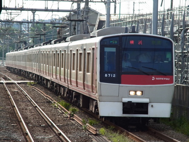 相鉄本線 快速横浜行 RIMG6368