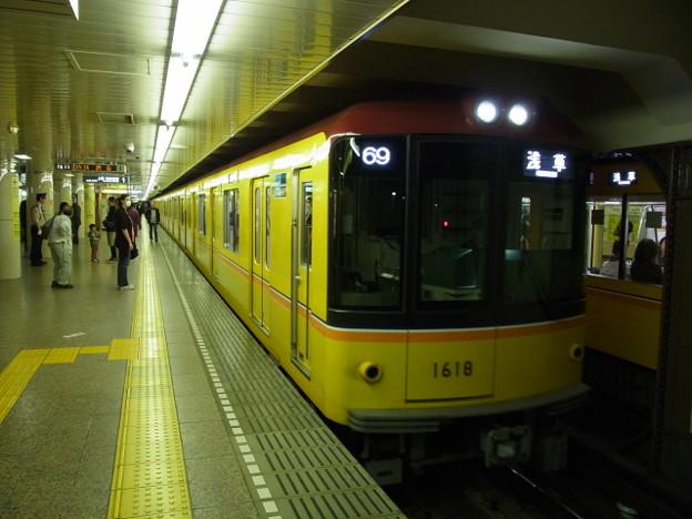 東京メトロ銀座線 普通浅草行 RIMG6605