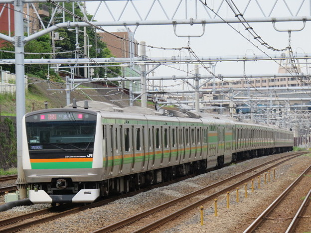 東海道本線 快速アクティー小金井行 IMG_0215