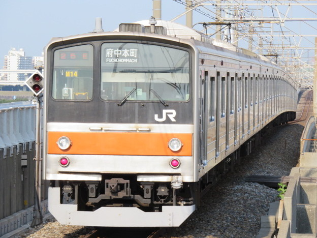 Photos: 武蔵野線 普通府中本町行 IMG_0232