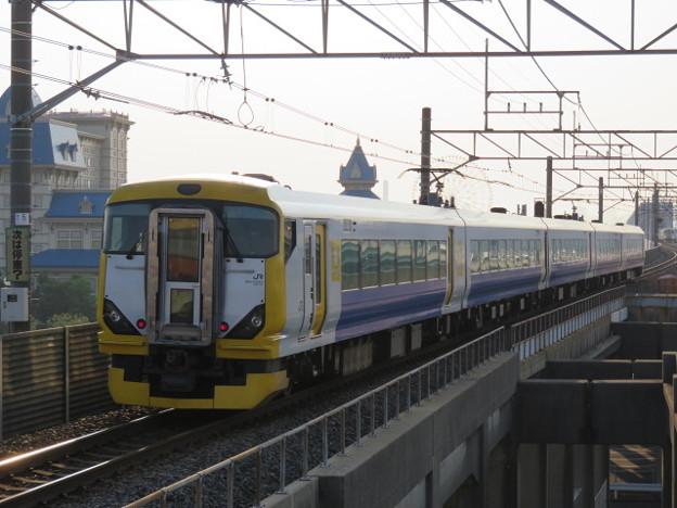 京葉線 特急わかしお東京行 IMG_0251