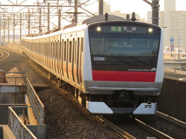 京葉線 快速誉田行 IMG_0261