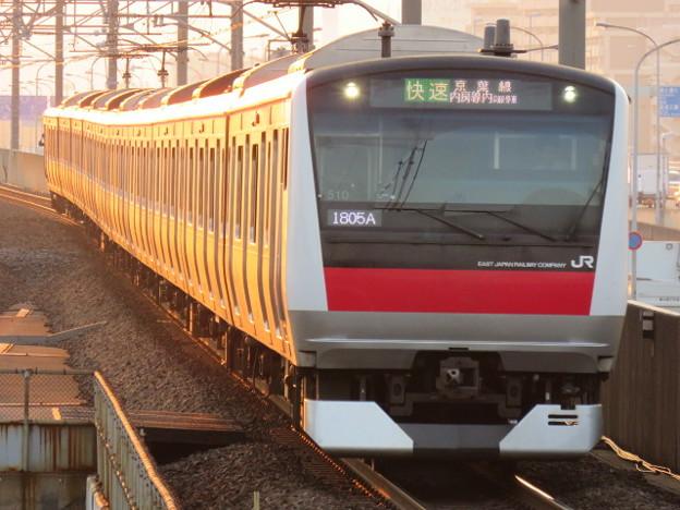京葉線 快速君津行 IMG_0267