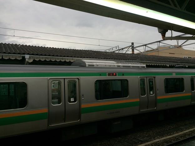 上野行き電車