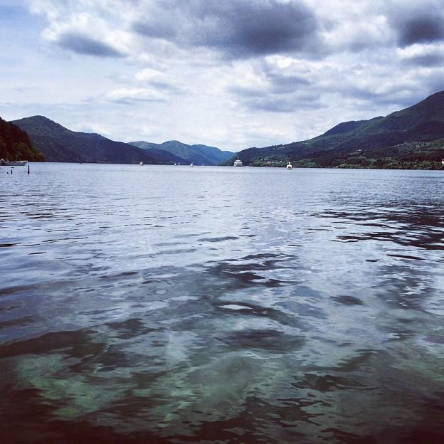 芦ノ湖の水面@Instagram