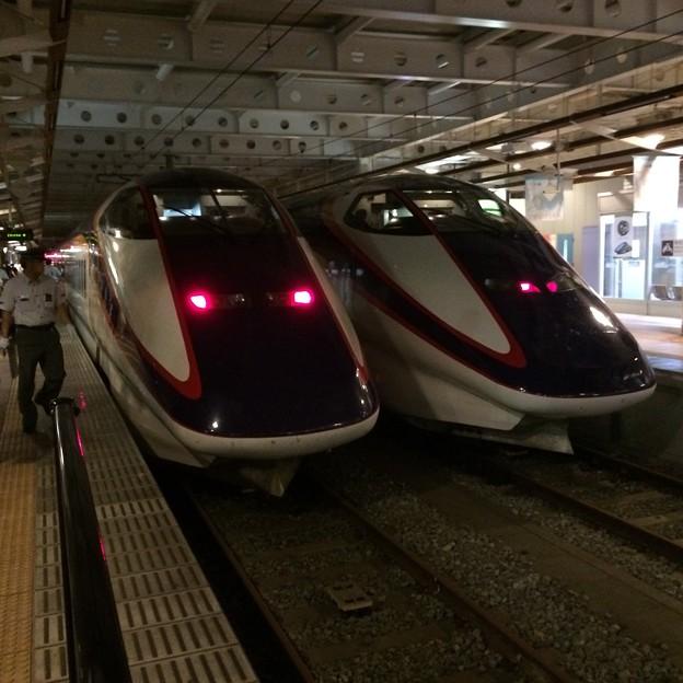 つばさ2編成 新庄駅にて