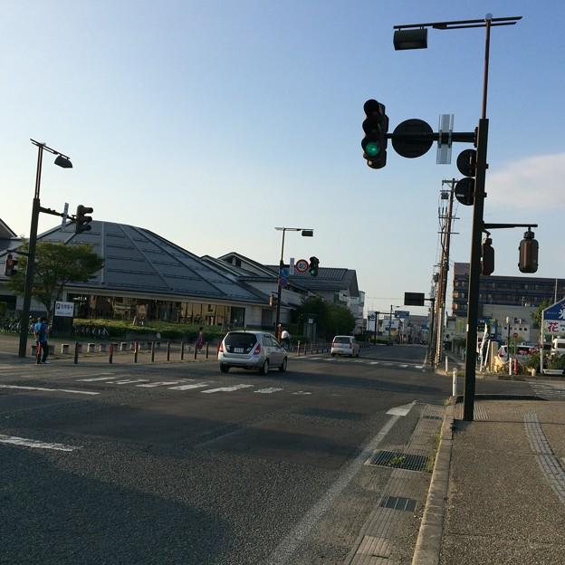 米沢市内の信号機