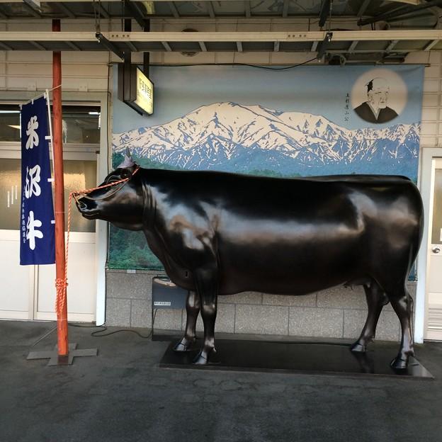 米沢駅1番ホームにて
