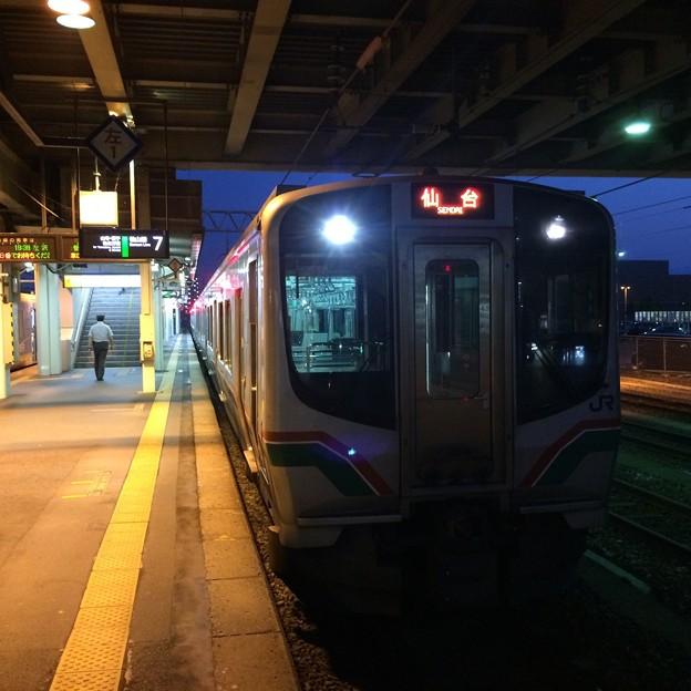 仙山線の列車