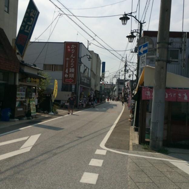 富岡製糸場までの道のり
