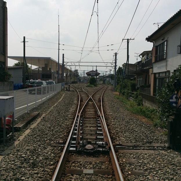 上州富岡駅構内