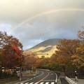 Photos: 紅葉と虹4