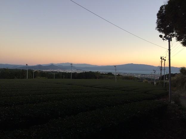 赤野観音堂からの夕景1