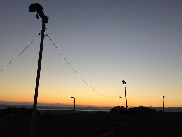 赤野観音堂からの夕景2