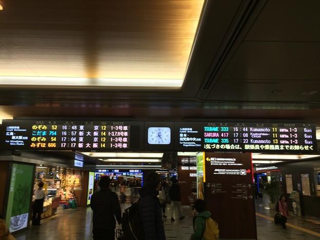 博多駅で乗り換え
