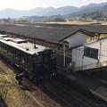 Photos: 吉松駅に到着した特急「はやとの風」