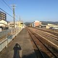 Photos: 志布志駅より油津・宮崎方面を望む