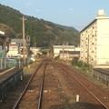 Photos: 大堂津駅にまもなく停車