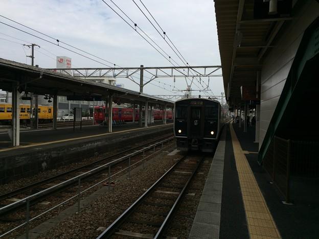 南宮崎駅に停車