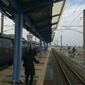 宮崎空港駅から宮崎方面を