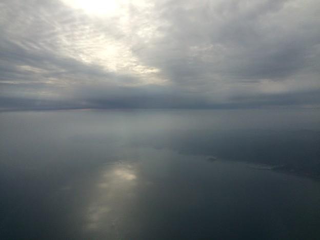 飛行機から見えた宮崎県