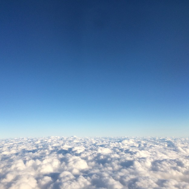 飛行機からの景色4