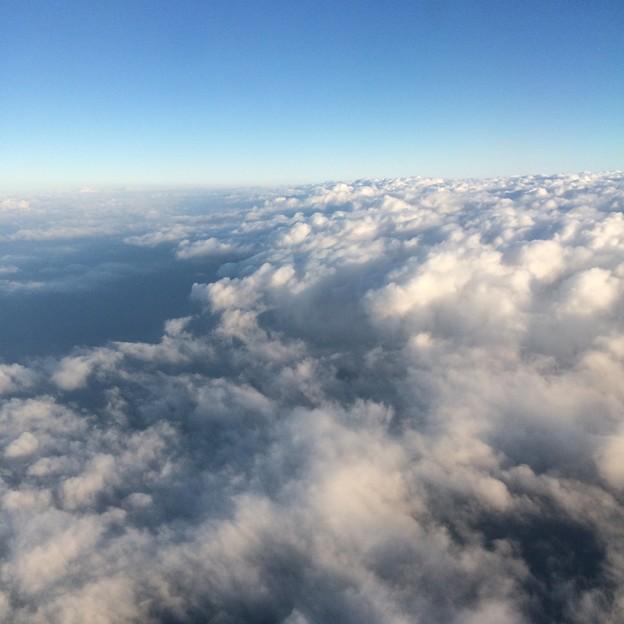 飛行機からの景色5