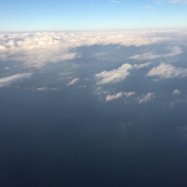 飛行機からの景色6