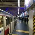 浜松町駅から羽田空港方面を望む