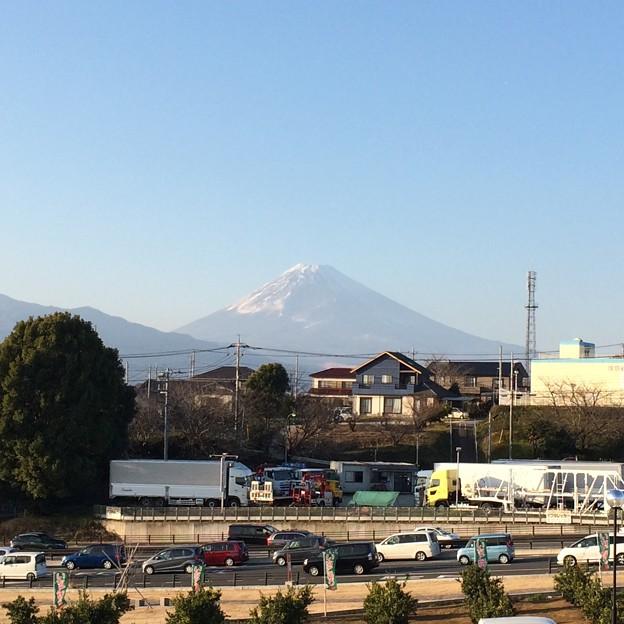 伊豆フルーツパークから見える富士山2