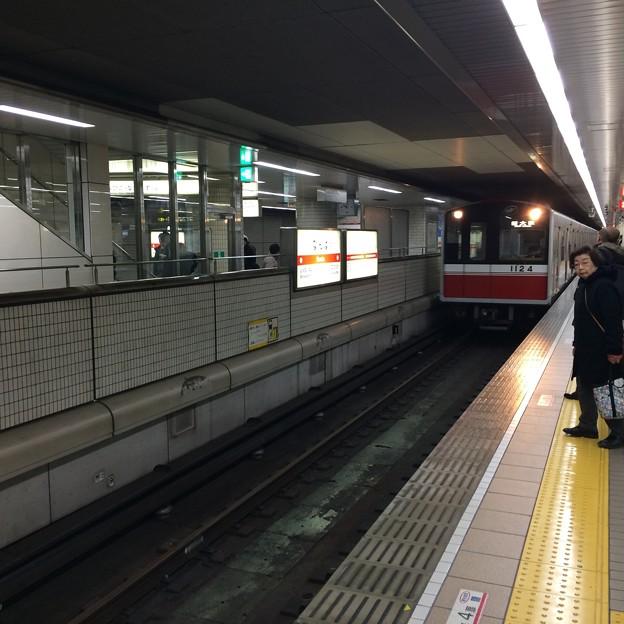 御堂筋線なんば駅