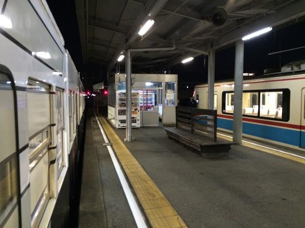 近江鉄道彦根駅ホーム2