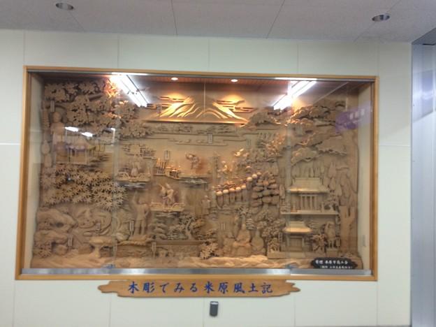 米原駅に設置されている展示物