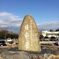 日本平 石碑