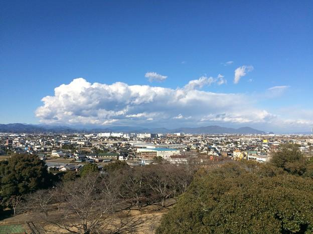 小山城からの眺め