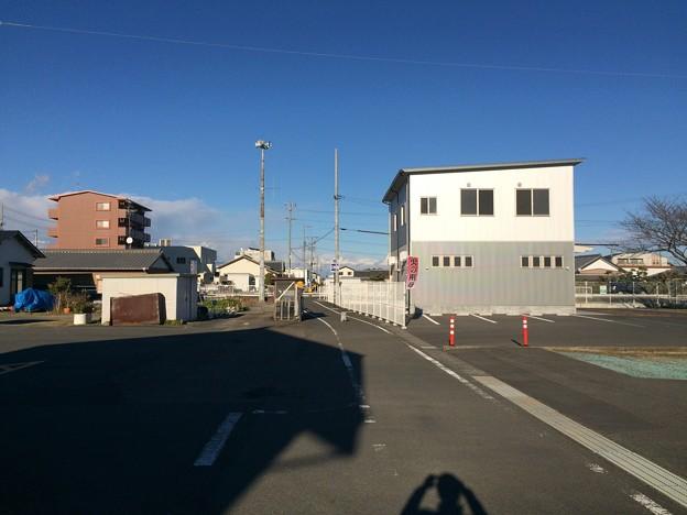 遠州神戸駅跡から新藤枝方面