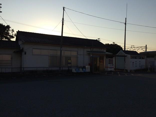 上大井駅1