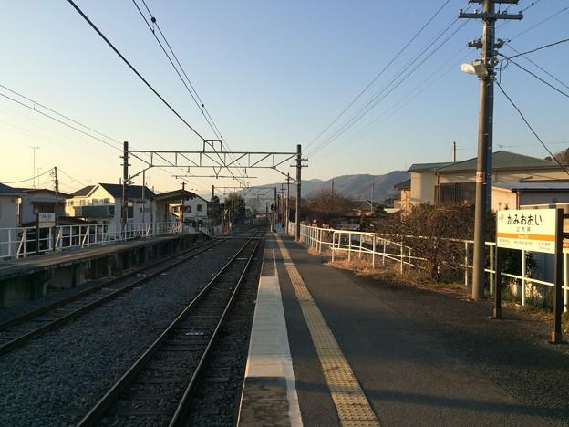 上大井駅3
