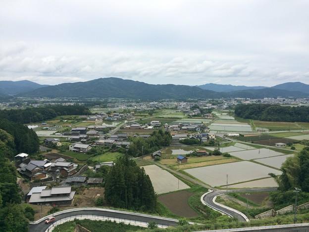 新東名 長篠設楽原PA6 付近の集落