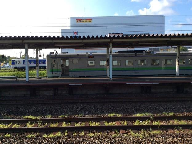 苫小牧駅に停車中のキハ40?