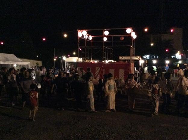 夕張の盆踊り2