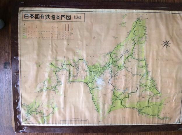 日本国有鉄道案内図 北海道