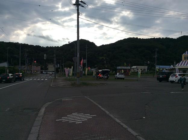 セイコーマート前の空き地