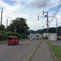 Photos: 線路踏切待ちの標識