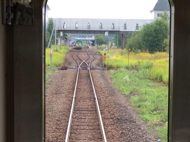 美瑛駅を発車
