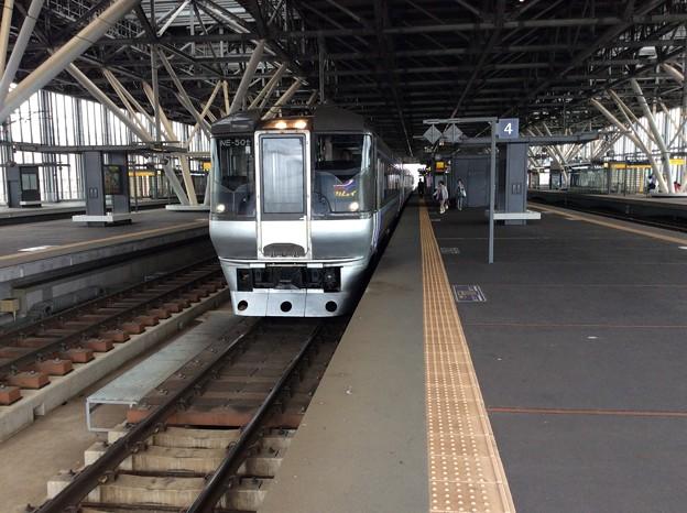 特急スーパーカムイ 札幌行き 特急スーパーカムイ 札幌行き