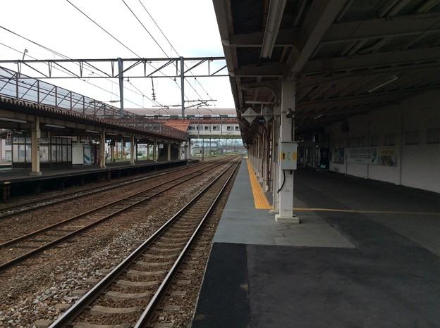 深川駅構内