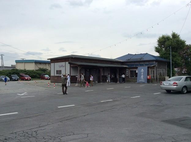 増毛駅の駅舎