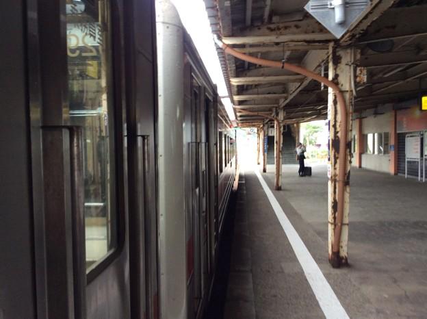 留萌駅1番ホーム2