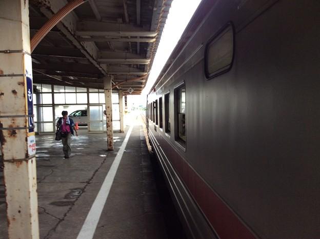 留萌駅1番ホーム3